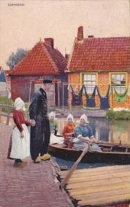 Netherlands Volendam Family In Traditional Costume 1923