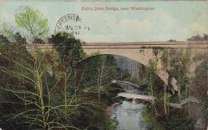 Cabin John Bridge Near Washington DC 1911