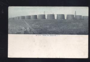 BARTLESVILLE INDIAN TERRITORY WEBBER OIL POOL OKLAHOMA ANTIQUE VINTAGE POSTCARD