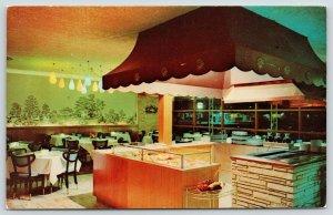 Pine Bluff Arkansas~Plantation Embers Restaurant~Purnell Managers~Prime Rib~1956