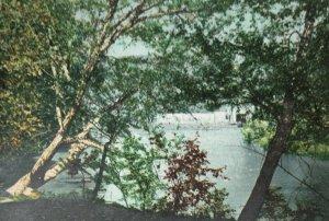 On The Swannanoa Near Asheville NC Postcard Undivided 1904 Cancel Postmark