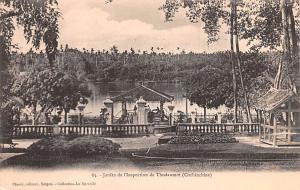 Cochinchine Vietnam, Viet Nam Jardin de I'Ispection de Thudaumot Cochinchine ...