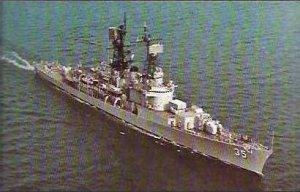 USS MITSCHER DDG-35
