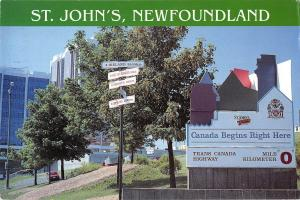 BR92017 st john s newfoundland canada begins right here