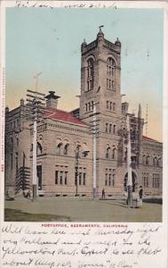 Post Office Sacramento California 1905