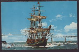 The Bounty,Sailing Ship Postcard
