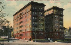BIRMINGHAM, Alabama, 1911 ; Terrace Court Apartment House