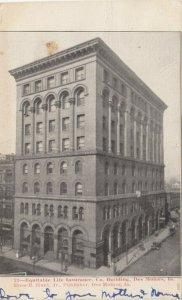 DES MOINES , Iowa, 1908; Equitable Life Insurance Co. Building