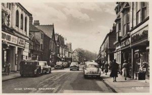High Street Erdington Palace Ballroom  Warks RPC Postcard