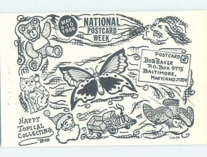 1980's POSTCARD SHOW Baltimore Maryland MD H9396
