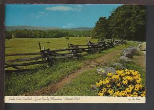 Cade Coves Overlook Great Smoky Mountains Postcard BIN