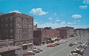 Downtown , COLUMBIA , Missouri , 50-60s