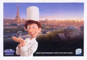 Disney Movie RATATOUILLE, Paris , France Skyline View, 2006 #4
