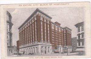 Michigan Grand Rapids Hotel Pantlind 1924