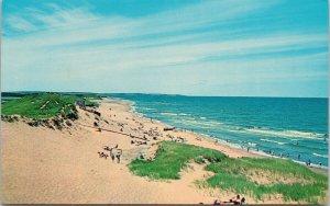 Cavendish Beach PE PEI Unused Vintage Postcard F30