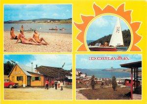 Europe Czech Republic Domasa water tourstic region  multiview beach sun summer