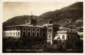 CPA Sondrio Il Palazzo del Governo e la Villa Tavelli. ITALY (396321)