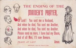 Humour The Einding Of The Maiden's Prayer