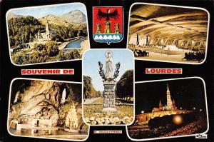 France Souvenir de Lourdes, Hautes Pyrenees Statue Grotto Basilica Statue
