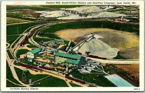 Joplin, Missouri Postcard Central Mill, Eagle-Picher Mining & Smelting Co.