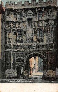 Christchurch Gate Canterbury Cathedral Postcard