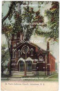 St Paul's Lutheran Church, Johnstown NY