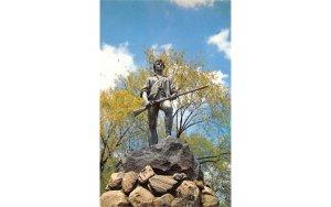 The Miunute Man Lexington, Massachusetts Postcard