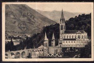 La Basilique et le Pic du Jer,Lourdes,France BIN