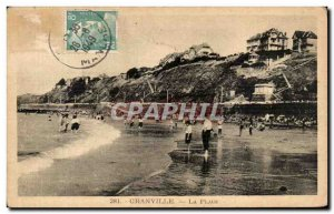 Old Postcard The Granville Beach