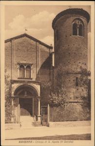 Ravenna Chiesa di S Agata Italy Italia