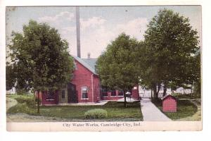 City Water Works, Cambridge City, Indiana