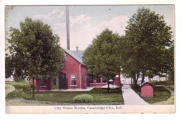 City Water Works, Cambridge City, Indiana