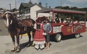 HANNIBAL, Missouri, 50-70s; The Mark Twain Clopper, Horse pulled trolley