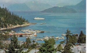 WEST VANCOUVER , B.C. , 50-60s ; Horseshoe Bay