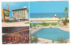Mult-Views of the Holiday Inn,swimming pool, St.Petersburg Beach,PU-1975