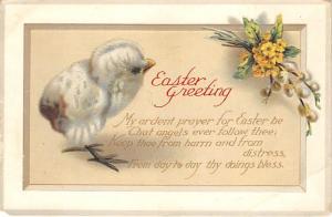 Artist Ellen Clapsaddle Easter Post Card Writing on back