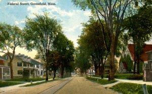 MA - Greenfield. Federal Street
