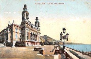 Casino and Theatre Monte Carlo Tape on back