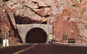 WY - Shoshone Canyon. Tunnel