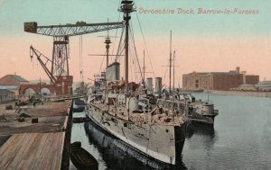 BARROW-IN-FURNESS , UK , 00-10s ; Warships at Devonshire Dock
