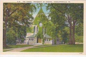 Virgina Charlottesville The Chapel University Of Virginia