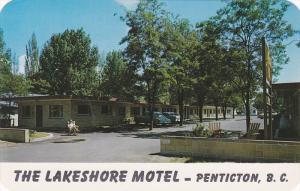 The  Lakeshore Motel,  Penticton,  B.C.,  Canada,  40-60s