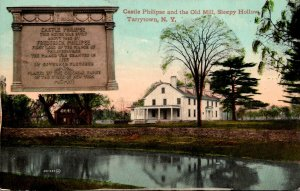 New York Tarrytown Sleepy Hollow Castle Philipse and The Old Mill 1911