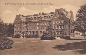 Pratt Dormitory, West Side, Amherst College, AMHERST, Massachusetts, PU-1936