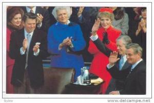 Jimmy Carter & Walter Mondale Leave Office,40-60s
