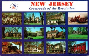 New Jersey Crossroads Of The Revolution Multi View