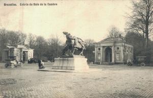 Belgium Bruxelles Entrée du Bois de la Cambre 02.32