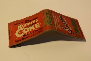 Service Drug Stores Every Manager an Owner Advertising 20 Strike Matchbook Cover