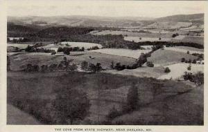 Maryland Oakland The Cove From State Highway Albertype