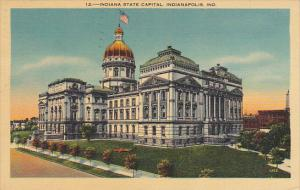 State Capitol Building Indianapolis Indiana 1942